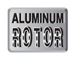 alluminium rotor